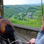 Point de vue de Rochehaut vers le village de Frahan
